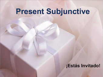 Present Subjunctive Presentation