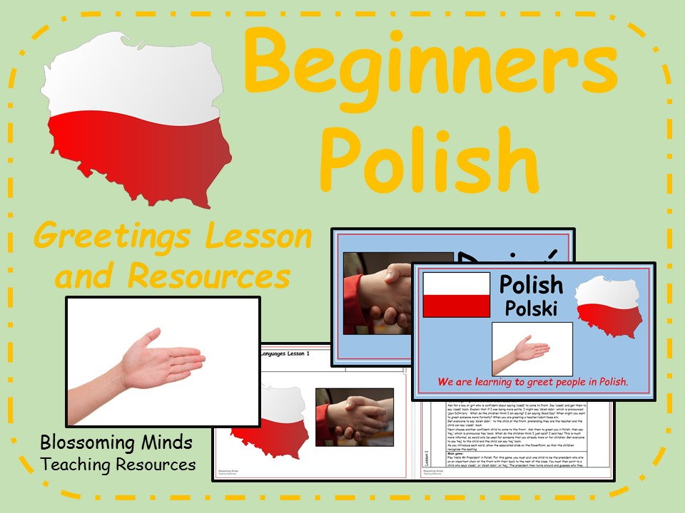 Polish lesson and resources - Saying hello