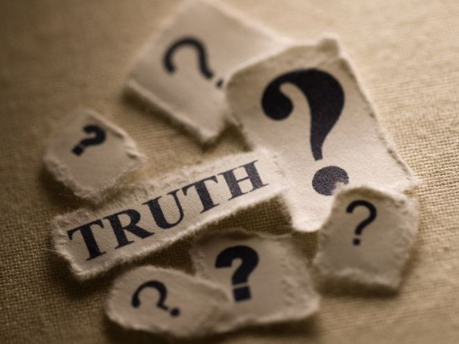 What Do We Mean By 'Truth'