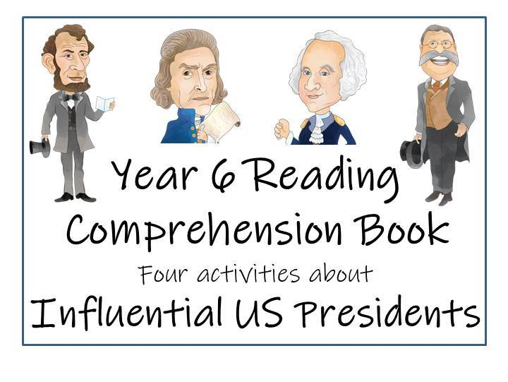 Influential US Presidents - Reading Comprehension Book