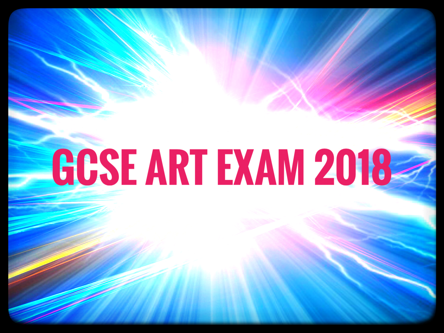 GCSE Art and Design Exam Bundle 2018.
