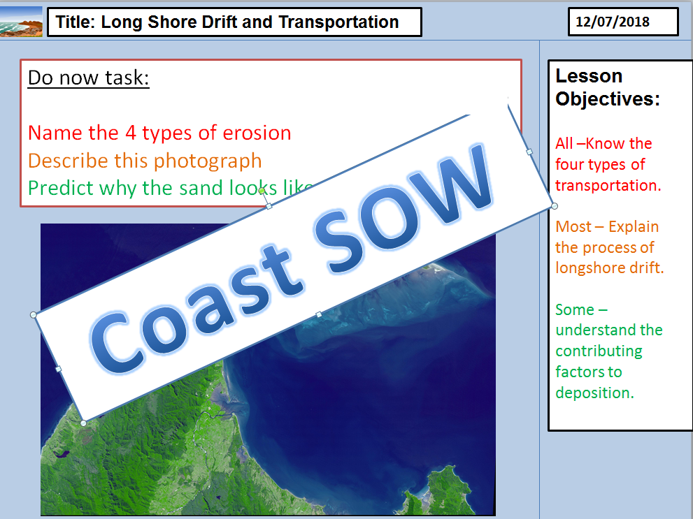 Coast SOW KS3