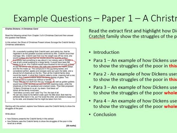 AQA GCSE English Language and Literature - Help with writing the Essays
