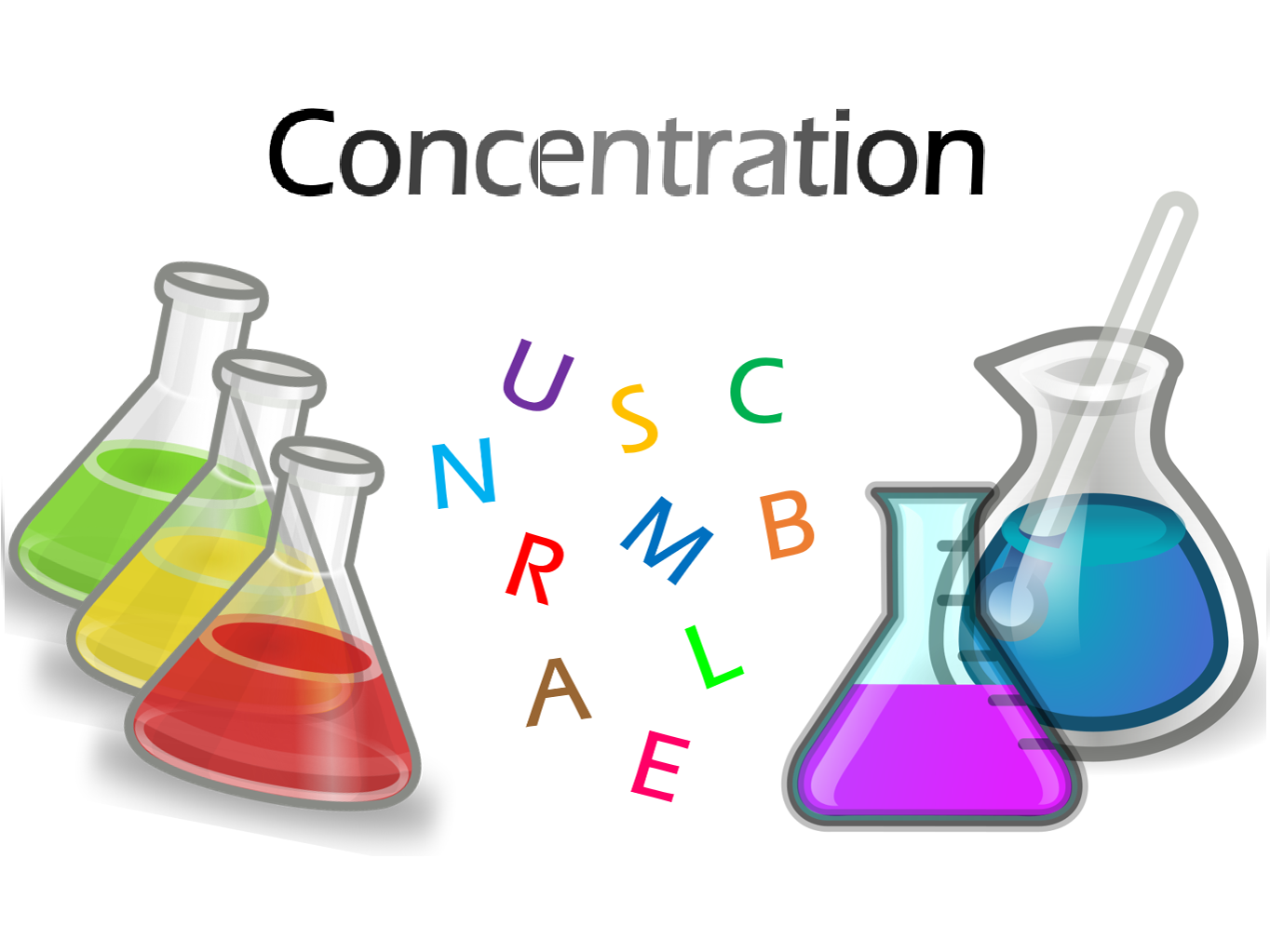 Solution Concentration Game