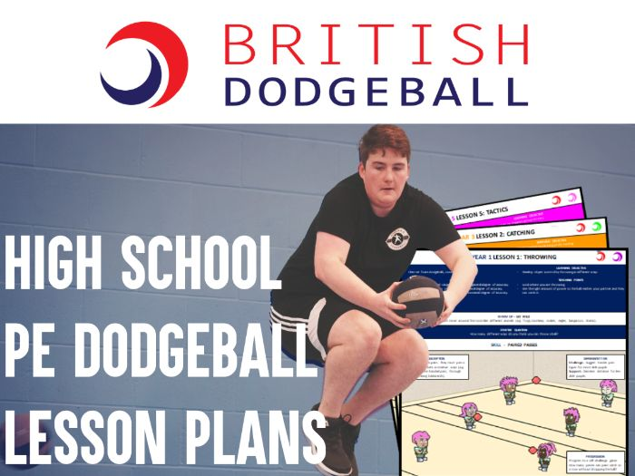 Dodgeball PE Scheme of Work - Lower KS3