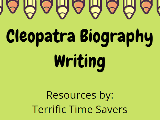 Cleopatra Biography Writing