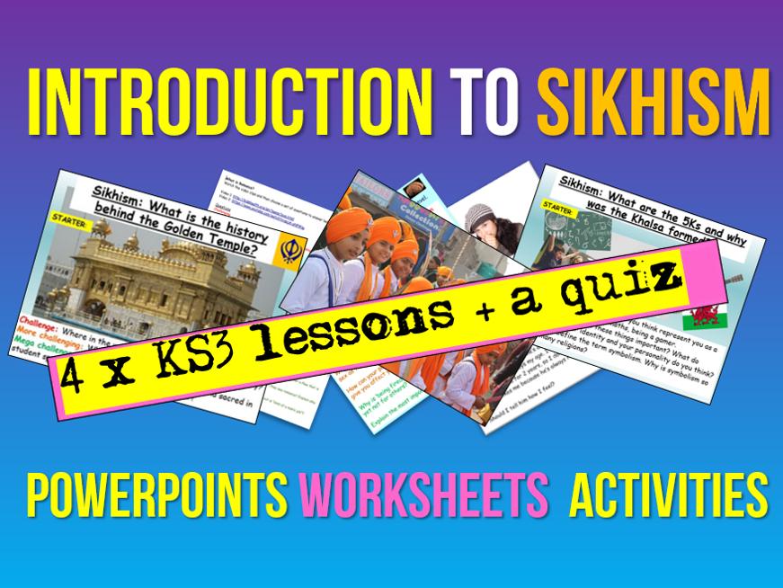 Sikhism KS3 Unit