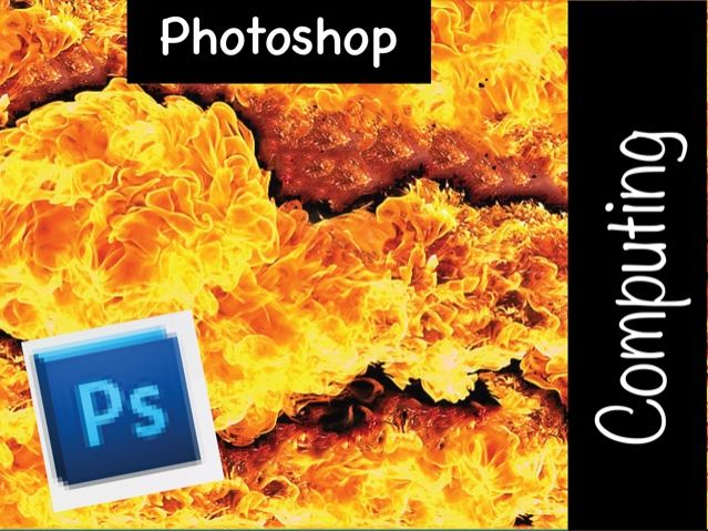 Photoshop 5 lesson tutorials KS3 SoW