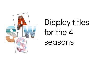 Seasons display titles