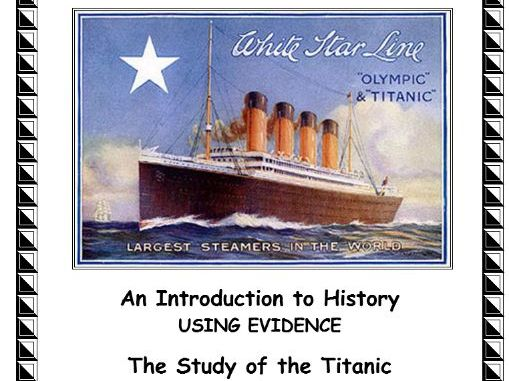 The Titanic - 30 Page Unit on the Titanic Disaster