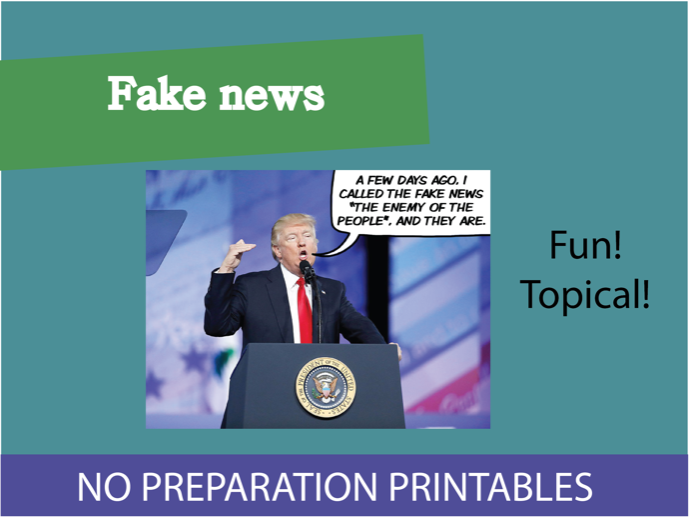 Fake news? KS3 Lesson