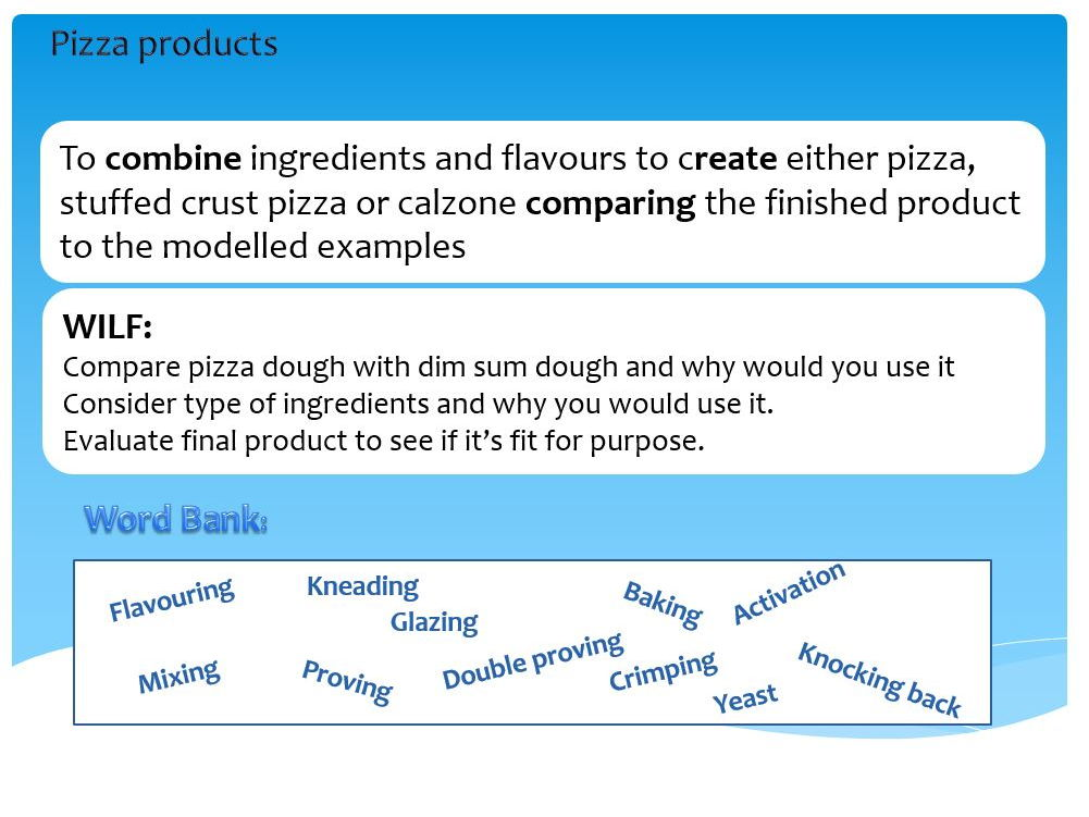 GCSE Food and Nutrition lesson bundle for Italian products