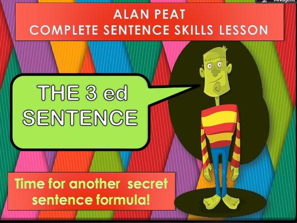3ed  SENTENCES COMPLETE LESSON (ALAN PEAT) KS2