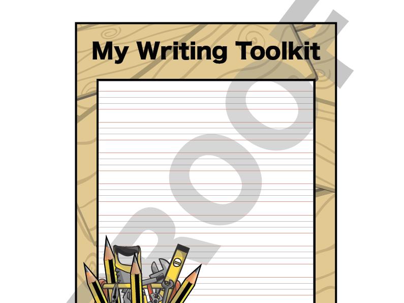 My Writing Toolkit - Handwriting Lines