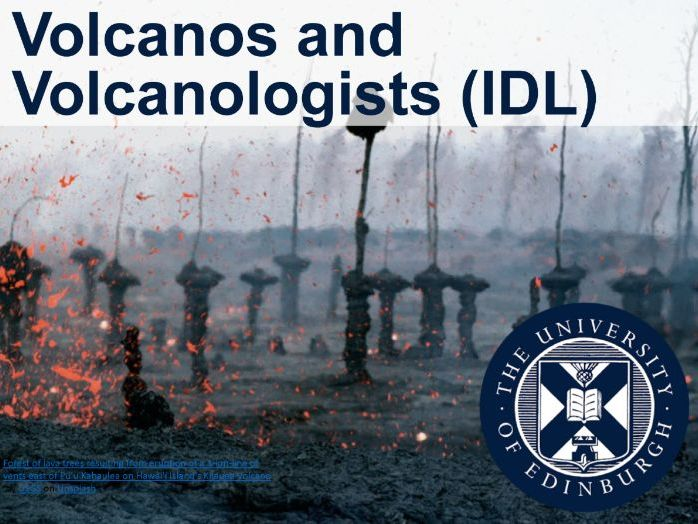 Volcanoes and Volcanologists (IDL)