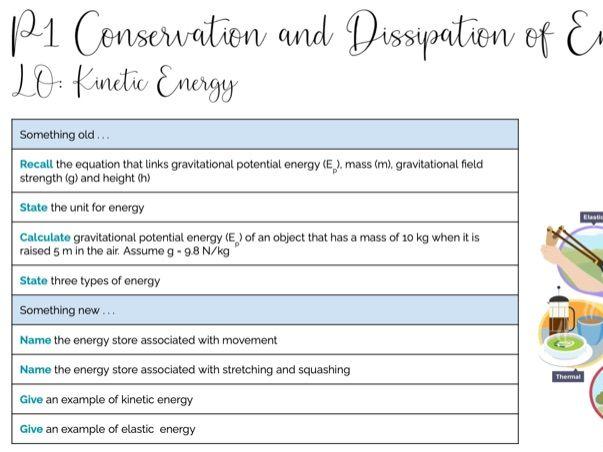 P1 Kinetic Energy