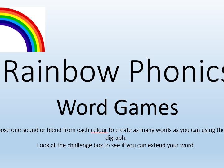 Phonics Screening Word Generator Game