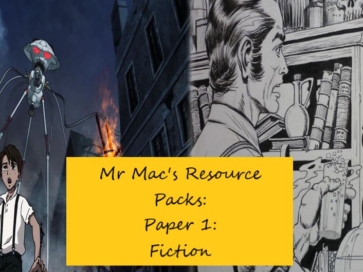 EDUQAS/AQA: GCSE: English Language: Paper 1: Introduction to 19th century fiction pack!