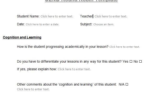 SEN student information request_ Round Robin