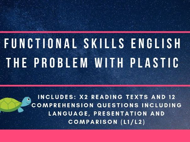 Functional Skills Reading and Speaking & Listening