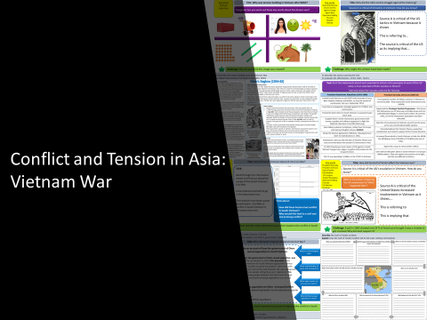 Conflict and Tension in Asia: Vietnam War Bundle