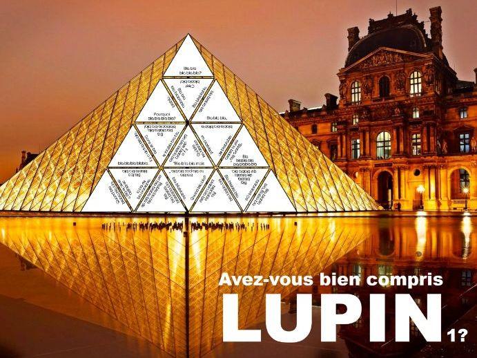 Avez-vous bien compris LUPIN1?