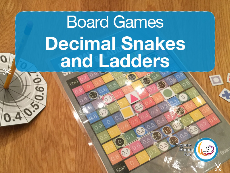Decimal Snakes and Ladders | Board Game