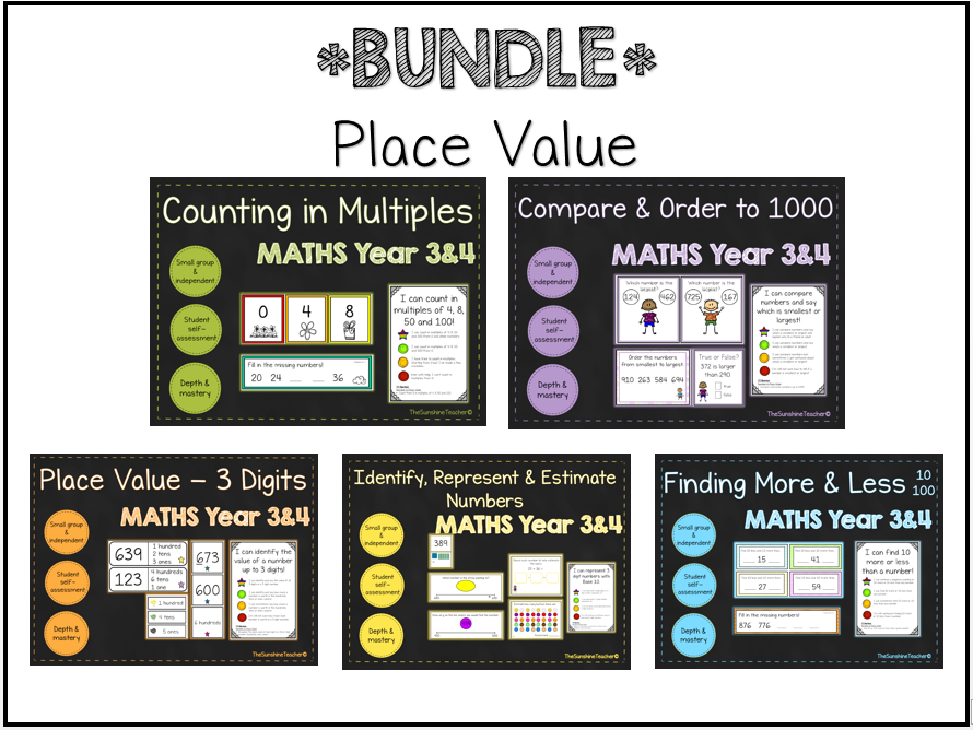 Place Value Bundle - Maths - LKS2 - 19 Teaching Resources!