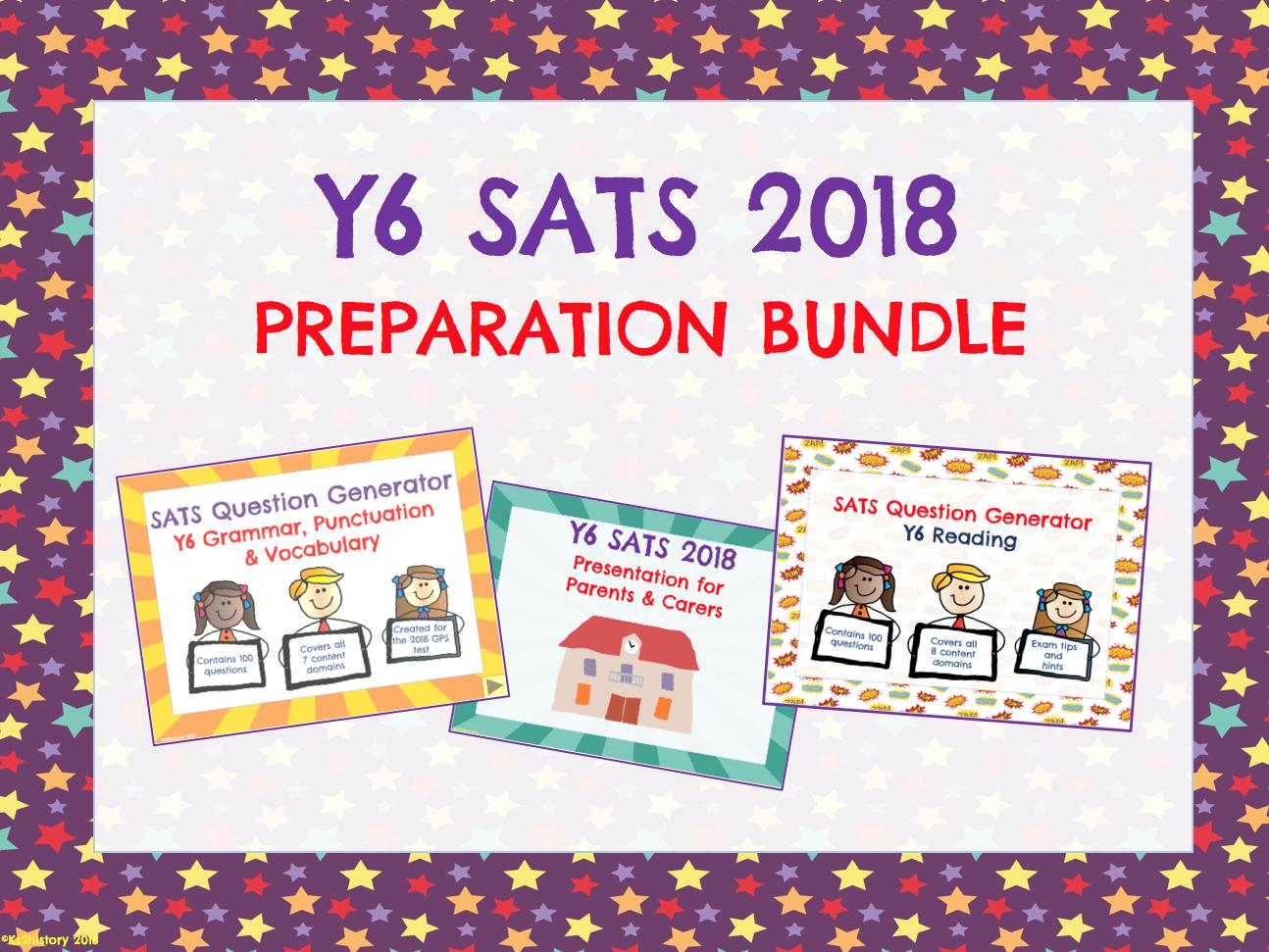 Y6 SATS Preparation Bundle