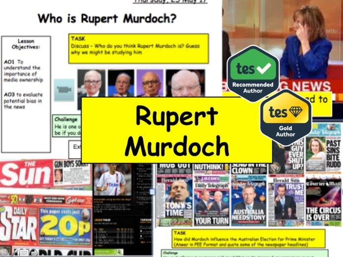 MEDIA: Rupert Murdoch and Media Ownership: Press Freedom