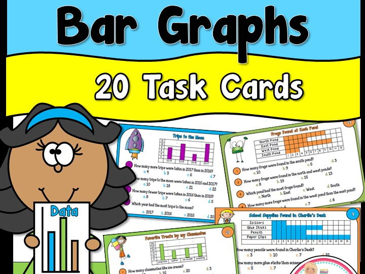 Bar Graph Task Cards