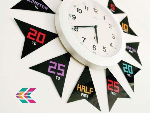 Clock Arrow Labels