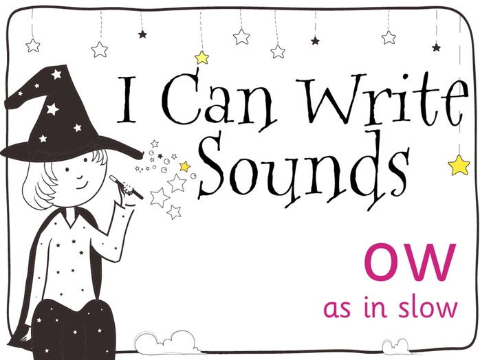 Magic Sounds Phonics Set 11 ow (as in slow)