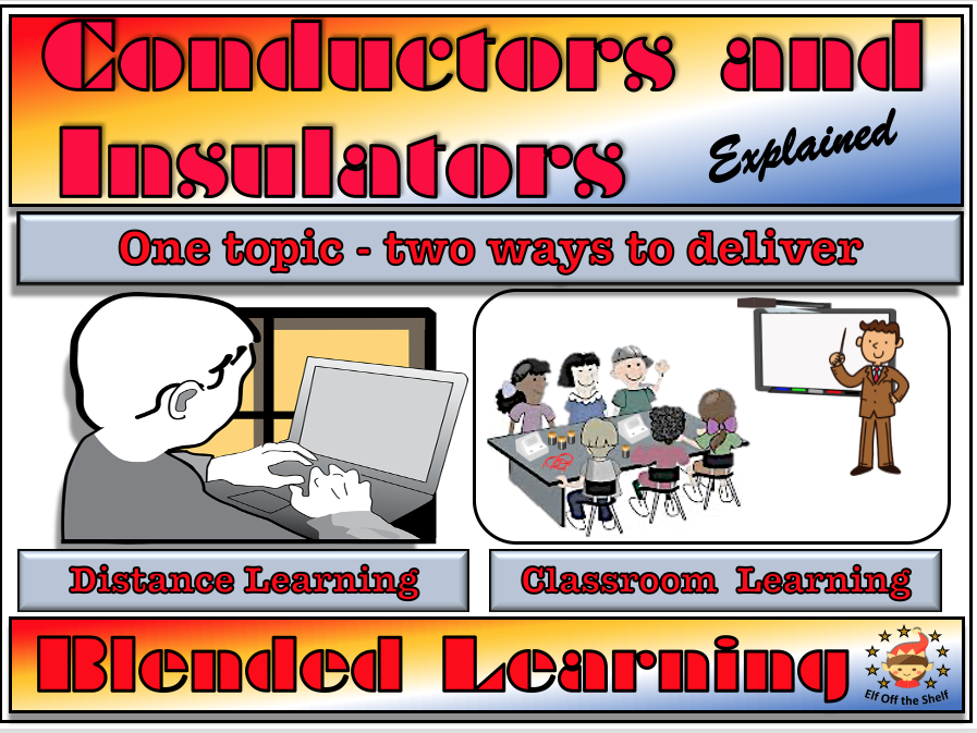 Current Electricity- Conductors and Insulators Explained - Classroom, Distance and Blended Learning KS2