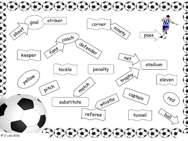 Literacy Worksheets:  Football  themed worksheets