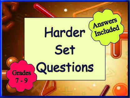 Harder Set Questions