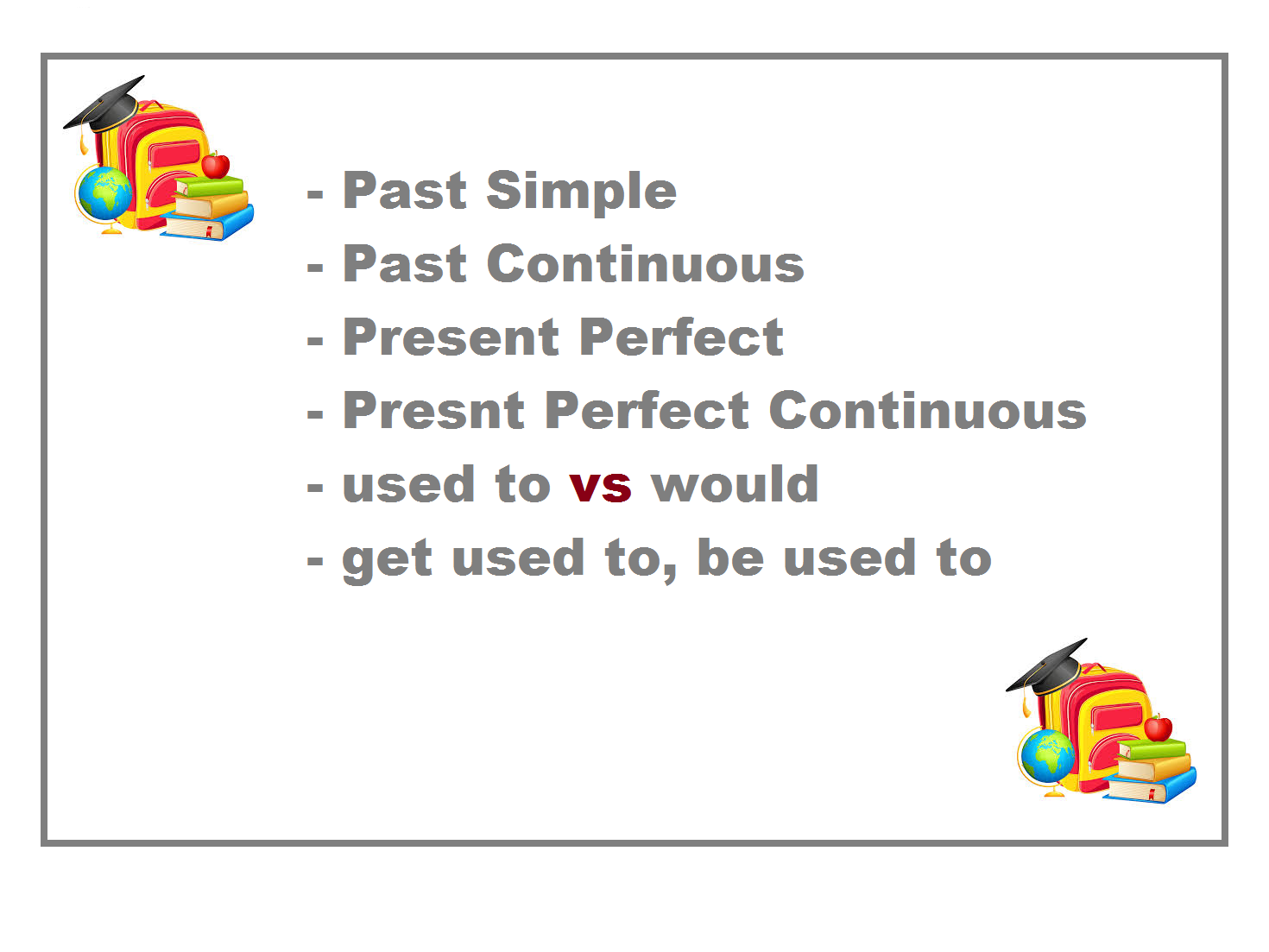 Present Perfect VS Past Simple - Worksheets x 12 - 60% OFF