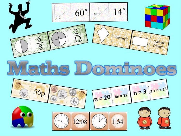 Dominoes for Primary Maths Objectives