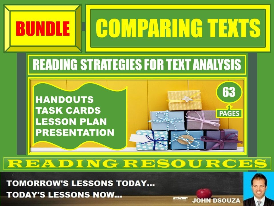 COMPARING TEXTS BUNDLE