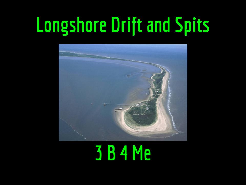 KS3 Longshore Drift and Spit Formation Single Lesson