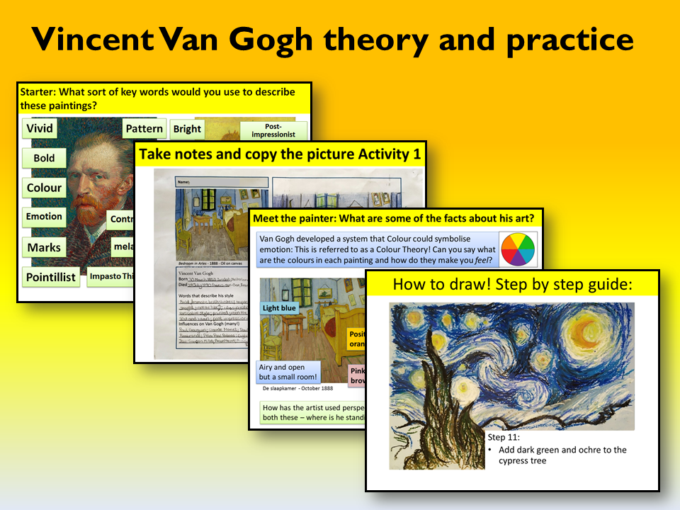 Van Gogh lessons & activities