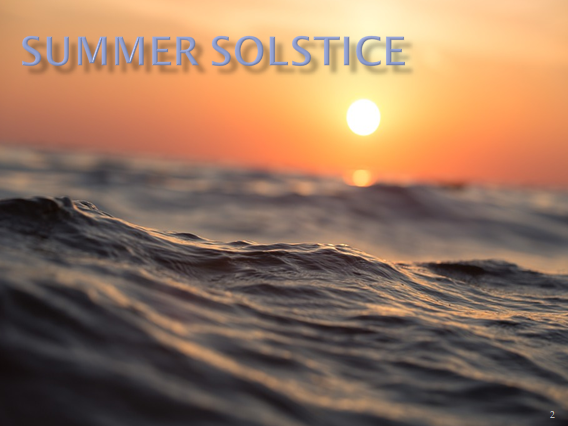 Summer Solstice Assembly - June 21st 2019 - Key Stages 3, 4 and 5