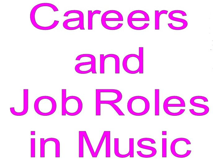 Music Careers Display (CIAG/BTEC)