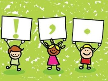 1-2 Punctuation (inquiry into punctuation marks, kung fu puntuation + more)