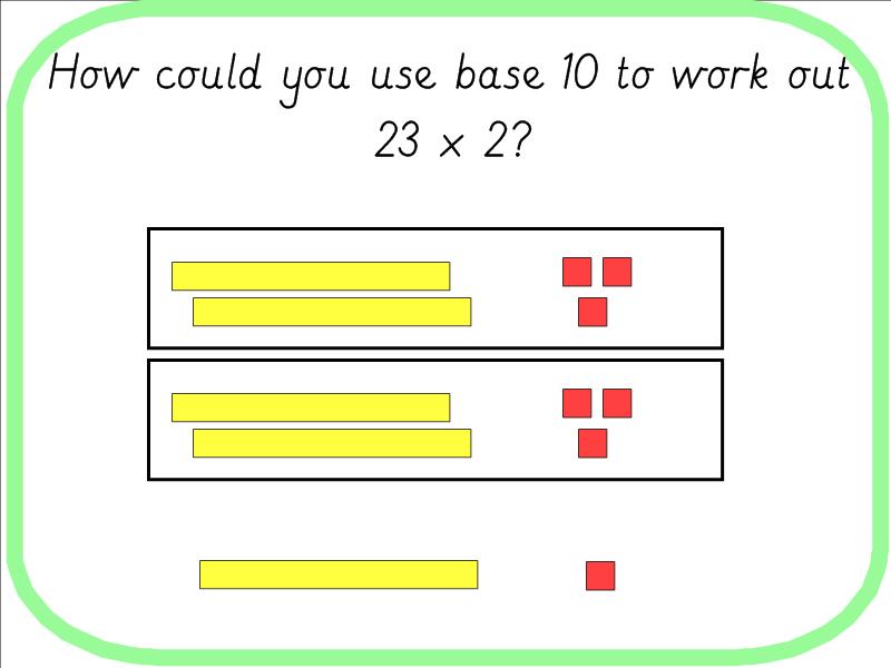 Year 3 Multiplication Using Base 10 2 Digit x 1 Digit