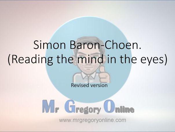 Baron-Cohen et al. (eyes test)