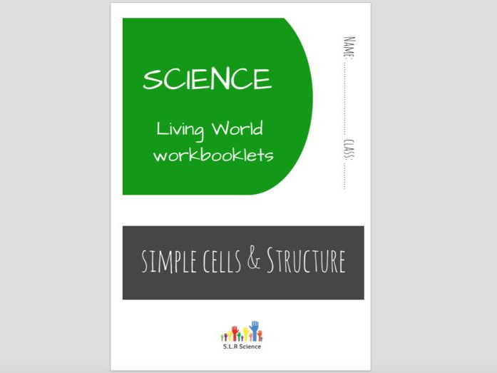 SPECIAL EDUCATION (SCIENCE) - CELLS, ORGANISMS, MICROSCOPES workbooklet