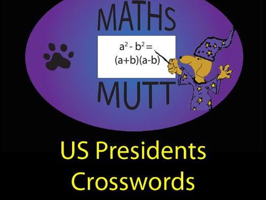 Pooch Puzzles: US Presidents Crosswords
