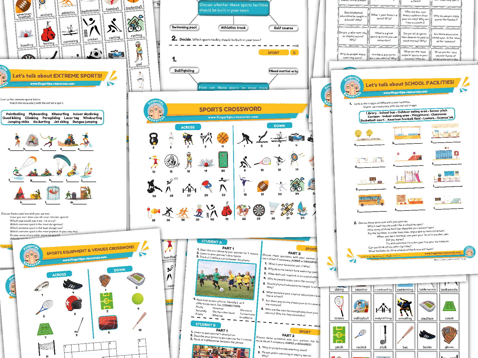 Sport Unit - ESL Activity Bundle