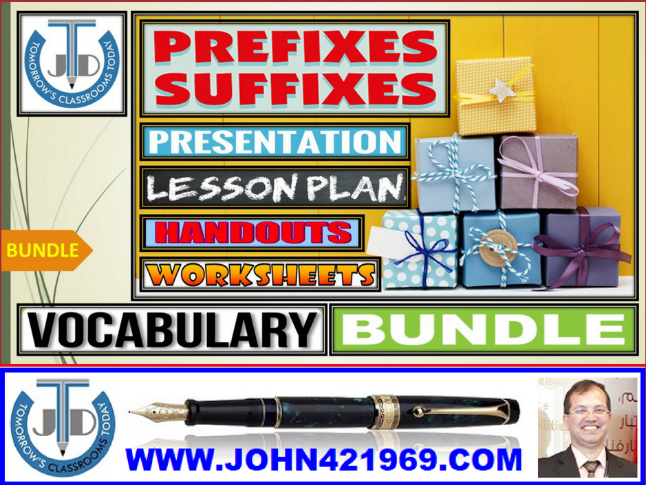 PREFIXES AND SUFFIXES: BUNDLE